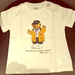 Polo bear tee brand new in plastic